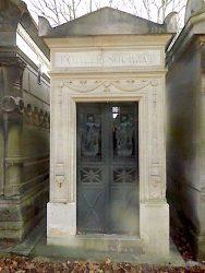 Chapelle sépulcrale de la famille Sourzat – Cimetière du Père-Lachaise – Paris (75020)