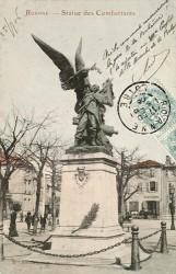 Monument aux morts de 1870, ou Monument des combattants, Monument de la Défense – Roanne
