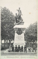 Monument aux morts de 1870 – Villefranche-sur-Saône