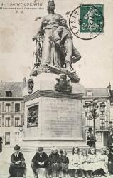 Monument aux morts de 1870, ou La Défense de Saint-Quentin – Saint-Quentin (fondu)