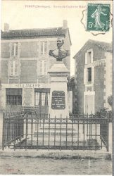 Monument au Capitaine Firmin Malafaye (Fondu) (Remplacé) – Vergt