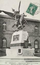 Monument aux morts de 1870, ou Monuments aux enfants de la Gironde? ou Monument aux mobiles de la Gironde – Bordeaux