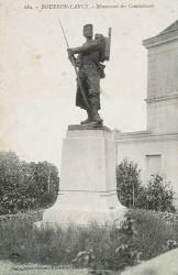 Monument aux morts de 1870, ou A la mémoire des enfants du canton de Bourbon-Lancy, morts pour la patrie – Bourbon-Lancy
