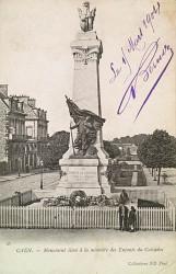 Monument aux enfants du Calvados tués à l'ennemi pendant la guerre de 1870-1871 ou Monument des Mobiles du Calvados – Caen (déplacé)