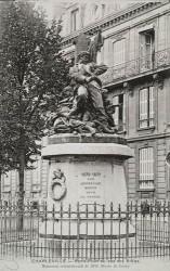Monument des Ardennais, ou Monument commémoratif de 1870, ou L'Invasion – Charleville-Mézières (détruit)