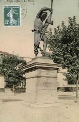 Monument commémoratif des combats de la Gare aux Boeufs, 29-30 novembre 1870 – Choisy-le-Roi