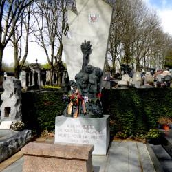 Monument aux Espagnols ports pour la liberté – Cimetière du Père Lachaise – Paris (75020)