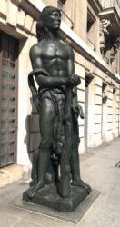 Statues « Force de la volonté » et  « Victoire » – Rue de Lille – Paris (75007)