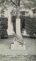 Monument aux morts de 1870, ou Monument des Brutions morts pour la Patrie, ou Monument à Richard – La Flèche