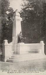 Monument aux morts de 1870 – Le Puy-en-Velay