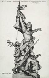 Monument aux morts de 1870 ou Monument des mobiles et des légionnaires du Rhône – Lyon