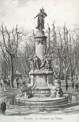 Monument aux morts de 1870, ou Monument aux mobiles, ou Monument aux enfants des Bouches-du-Rhône – Marseille