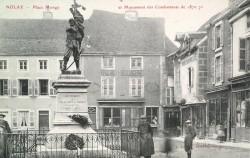 Monument aux morts de 1870 (déplacé) – Nolay