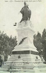 Monument aux morts de 1870 – Salon-de-Provence