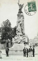Monument aux morts de 1870 – Soissons