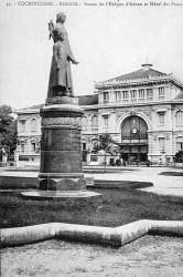 Monument à l'évêque d'Adran – Saïgon (disparu)