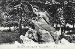 """""""Dans la Montagne, Aigle et bouquetins"""", ou """"La Proie"""" – Saint-Maur-des-Fossés (fondu)"""