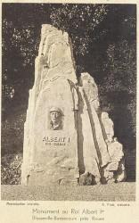 Monument à Albert Ier roi de Belgique – Bonsecours