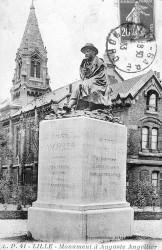 Monument à Auguste Angellier – Lille