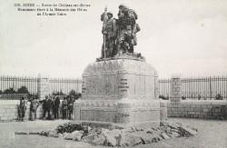 Monument aux héros de l'Armée noire – Reims (détruit)
