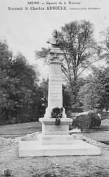 Monument à Charles Arnould – Reims (fondu et remplacé)