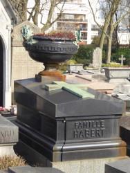 Tombe de la famille Habert – Cimetière du Père-Lachaise – Paris (75020)