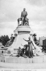 Monument à Emile Augier – Valence (fondu)