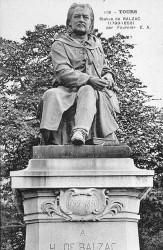 Monument à Balzac – Tours (fondu)