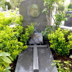 Tombe de la famille Delplanque – Cimetière du Père Lachaise – Paris (75020)