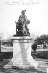 Monument à Théodore de Banville – Moulins