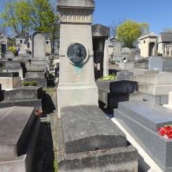 Tombe de Charles Waldmann – Cimetière du Père Lachaise – Paris (75020)