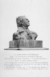 Monument à Barbey d'Aurevilly – Saint-Sauveur-le-Vicomte (fondu) (remplacé)