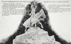 Monument commémoratif de la Bataille de Nancy, 1477 – Place de la Croix de Bourgogne – Nancy (projet remplacé par du grès rose)