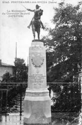 Monument à Bayard – Pontcharra-sur-Bréda (volé) (remplacé)