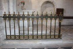 Grille de chapelle – Meung-sur-Loire