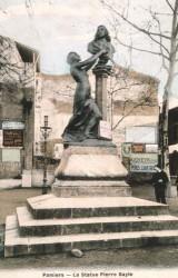 Monument à Pierre Bayle – Pamiers (disparu)