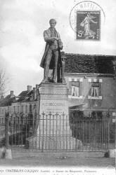 Monument à Antoine-César Becquerel – Châtillon-Coligny