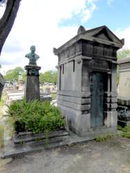 Sépulture de Barthélémy Paupy – Cimetière du Père-Lachaise – Paris (75020)