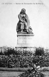 Monument à Bernardin de Saint-Pierre – Le Havre