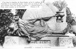Tombeau de Paul Bert – Auxerre