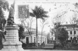 Monument à Paul Bert – Hanoï (disparu)