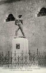 Monument à Blanqui, ou l'Action enchaînée – Puget-Théniers (sauvé)