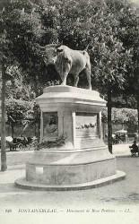 Monument à Rosa Bonheur – Fontainebleau (fondu)