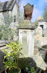 Urne funéraire – Division 45 – Cimetière du Père-Lachaise – Paris (75020)