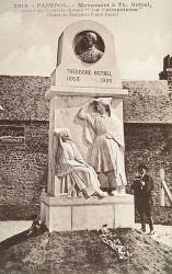 Monument à Théodore Botrel – Rue de la Fontaine – Paimpol