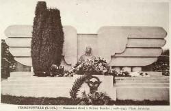 Monument à Hélène Boucher – Yermenonville (disparu)