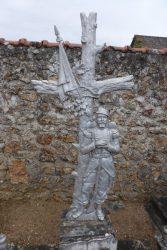 Croix militaire de cimetière  – Monnaie