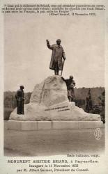 Monument à Aristide Briand – Pacy-sur-Eure