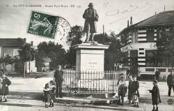 Monument à Paul Broca – Sainte-Foy-la-Grande (fondu)