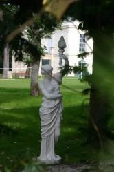 Statues du jardin – Palais Rose  – Le Vésinet